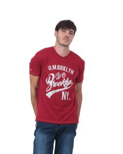 T-shirt manches courtes Homme GMB rouge