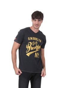 T-shirt manches courtes homme GMB anthracite