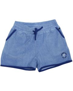 "Light Blue Terry cloth Girl Shorts ""French Surf"""