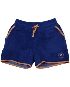 "Dark blue Terry Cloth Girl Shorts ""French Surf"""