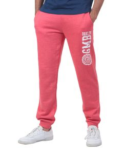Pantalon jogging Homme GMB rouge chiné