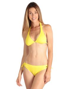 Lemon yellow Women Swimsuit 2 pieces