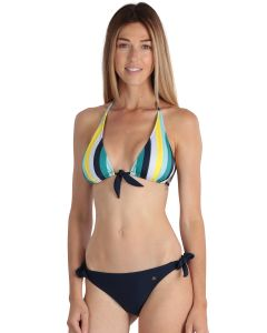 Bi-color yelow women's Biarritz 2-piece swimsuit
