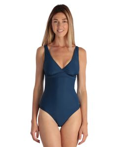 Dark blue Women Swimsuit 1 piece