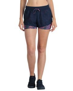 Short de sport femme Just Move bleu