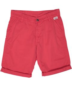Red boy's bermuda shorts Biarritz
