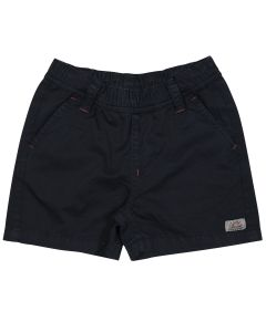 Navy blue little boy's bermuda shorts Biarritz