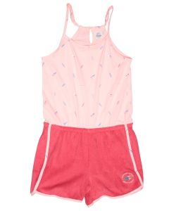 Peach girl's jumpsuit Biarritz
