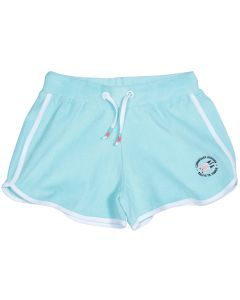 Light blue girl's sponge shorts Biarritz