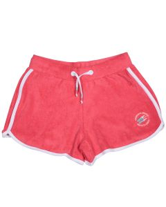 Peach girl's sponge shorts Biarritz