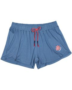 Blue marlin girl's shorts Peace & Love