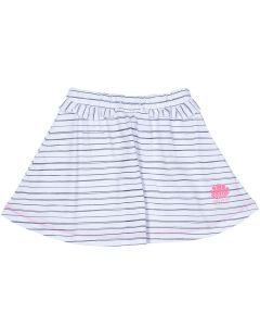 "Striped White Girl Skirt ""Marin"""