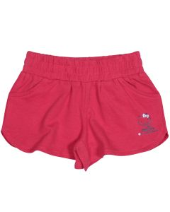 "Fuschia Red Girl Short ""Hello Kitty"""