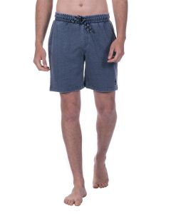 "Short Long Homme ""Wellness Beach"" bleu grisé"